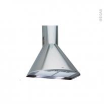 Hotte de cuisine aspirante - Pyramide 60cm - Inox - WHIRLPOOL - AKR689IX