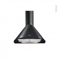 Hotte de cuisine aspirante - Pyramide 60cm - Noir - WHIRLPOOL - AKR689NB