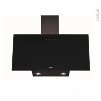 Hotte inclinée - 80cm - Noire - WHIRLPOOL - AKR039GBL