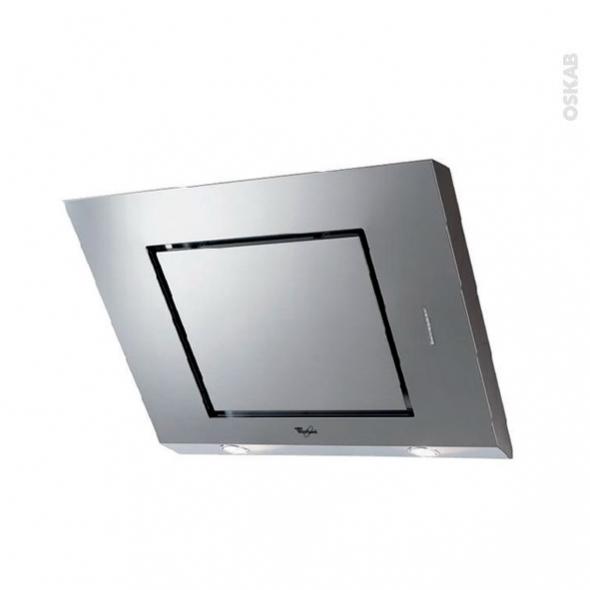 Hotte inclinée - 80cm - Inox - WHIRLPOOL - AKR808IX