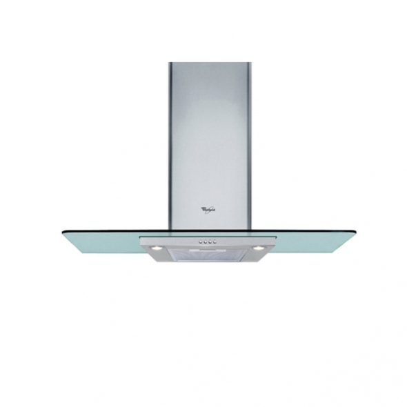 Hotte verre - 90cm - Verre - WHIRLPOOL - AKR981IX
