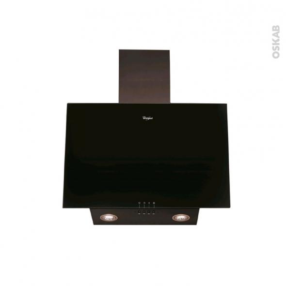 Hotte inclinée - 60cm - Noire - WHIRLPOOL - AKR037GBL
