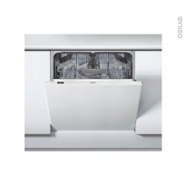 Lave vaisselle 60CM - Full Intégrable - 14 couverts - WHIRLPOOL - WKIC3C26