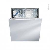 Lave vaisselle 13 couverts - Full Intégrable 60 cm - INDESIT - DIFP 68B1 EU