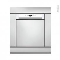 Lave vaisselle 60CM - Intégrable 14 couverts - Blanc - Whirlpool- WBC3C26