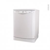 Lave vaisselle 13 couverts - Pose libre 60 cm - Blanc - INDESIT - DFG 15B1 FR