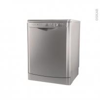 Lave vaisselle 13 couverts - Pose libre 60 cm - Gris - INDESIT - DDFG 26B17 S EU