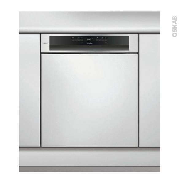 Lave vaisselle 60CM - Intégrable - Inox - WHIRLPOOL - WCBO3T123PFI