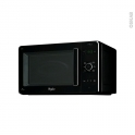 Micro-ondes grill - Pose libre 30L - Noir - WHIRLPOOL - JC216NB