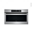 Micro-ondes grill - Intégrable 38cm 31L - Inox - WHIRLPOOL - AMW730IX