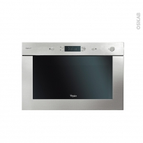 Micro-Ondes 22L - Intégrable 38CM - Inox - WHIRLPOOL - AMW921IXL