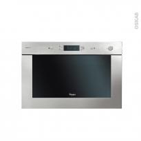 Micro-ondes grill - Intégrable 38cm 22L - Inox - WHIRLPOOL - AMW921IXL
