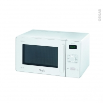 Micro-ondes - Pose libre 25L - Blanc - WHIRLPOOL - GT281WH