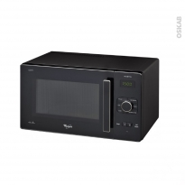 Micro-ondes grill - Pose libre 25L - Noir - WHIRLPOOL - GT285NB