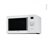 Micro-ondes grill - Pose libre 30L - Blanc - WHIRLPOOL - JC216WH