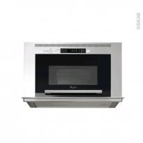 Micro-ondes hotte intégrée - Intégrable 38cm 22L - Inox - WHIRLPOOL - AVM960IX