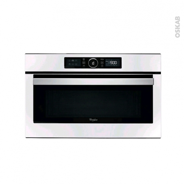 Micro-Ondes 31L - Intégrable 38CM - Blanc - Whirlpool - AMW730WH