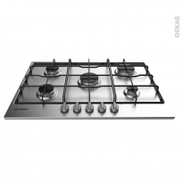 Plaque de cuisson 5 feux - Gaz 73 cm - Inox - INDESIT - THP 752 IX/I