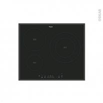 Plaque de cuisson 3 feux - Induction 60 cm - Verre Noir - WHIRLPOOL - ACM865BA-NEW