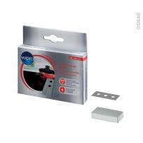 Lames pour grattoir - Vitrocéramique & Induction - Pack de 10 - BLA014 - WPRO