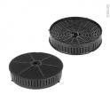 Pack de 2 filtres à charbon - Anti odeurs - CHF57 - WPRO