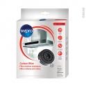 Pack de 2 filtres à charbon - anti odeurs - Type 58 - AKB000/1 - WPRO