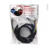 Câble électrique - pour appareil de cuisson - sup5750W - CAB360/1 - WPRO