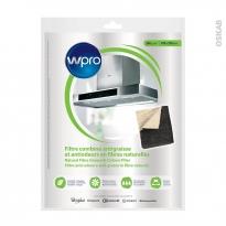 Filtre combiné anti graisse et anti odeurs - Universel en fibres naturelles - NCF351 - WPRO