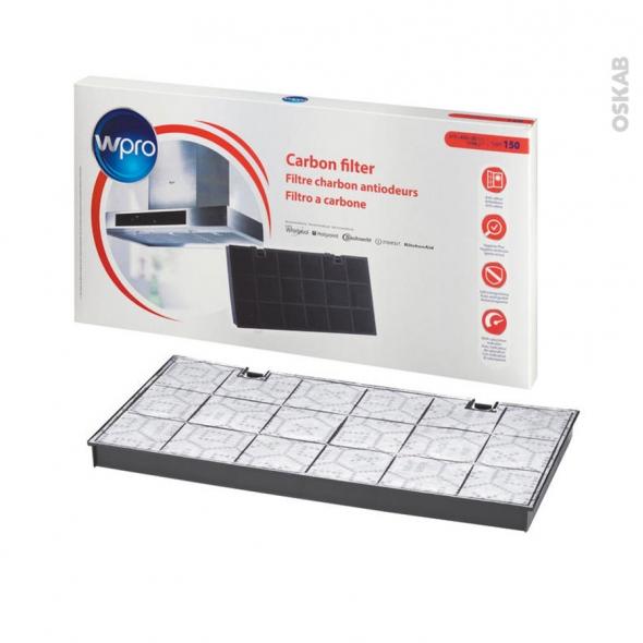 Filtre à charbon - Anti odeurs - Type 150 - CHF150/1 - WPRO