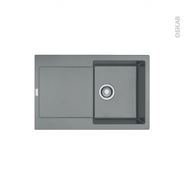 Evier de cuisine - MARIS - Granit stone - 1 bac égouttoir - à encastrer - FRANKE