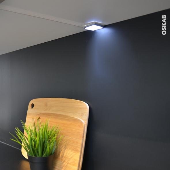 SOKLEO - KIT 2 spots Carré - LED