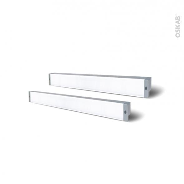 Kit de 2 réglettes de cuisine - Eclairage LED RHEA - L52 cm