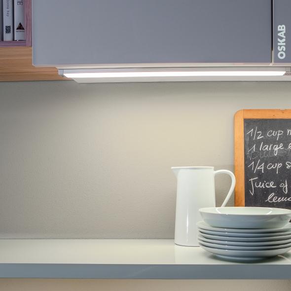 Réglette de cuisine - Eclairage Led RHEA - Détecteur de mouvement - L52 cm