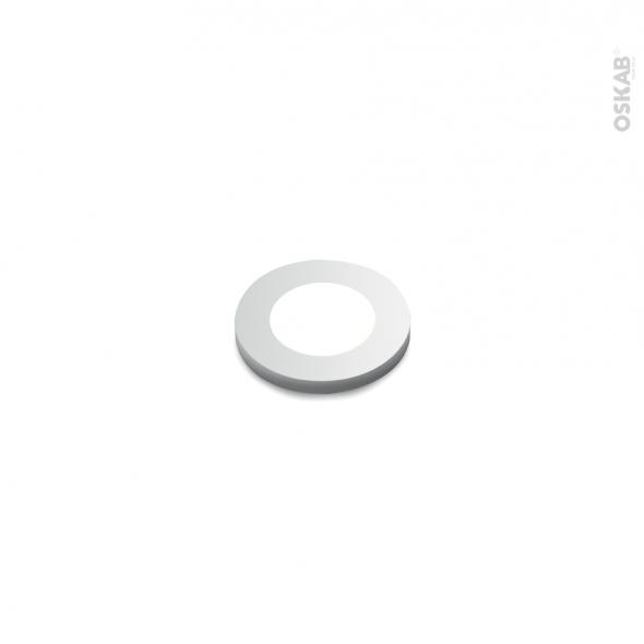 Spot de cuisine - Eclairage LED rond - Finition gris métallique
