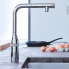 #Robinet de cuisine - ESSENCE SMARTCONTROL - Mitgeur avec douchette - Chromé - GROHE