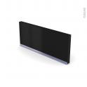 GINKO Noir - Rénovation 18 - plinthe N°35 - Avec joint d'étanchéité - L220xH15,4