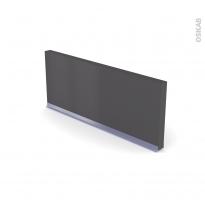 GINKO Gris - Rénovation 18 - plinthe N°35 - Avec joint d'étanchéité - L220xH14,4