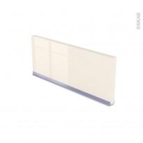 IRIS Ivoire - plinthe N°35 - Avec joint d'étanchéité - L220xH14,4