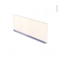 SILEN Ivoire - plinthe N°35 - Avec joint d'étanchéité - L220xH14,4