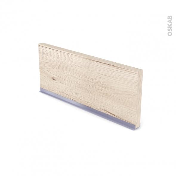 Plinthe de cuisine - IKORO Chêne clair - avec joint d'étanchéité - L220xH15,4