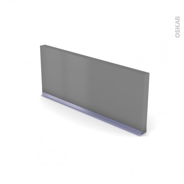 Plinthe de cuisine - FILIPEN Gris - avec joint d'étanchéité - L220xH14,4