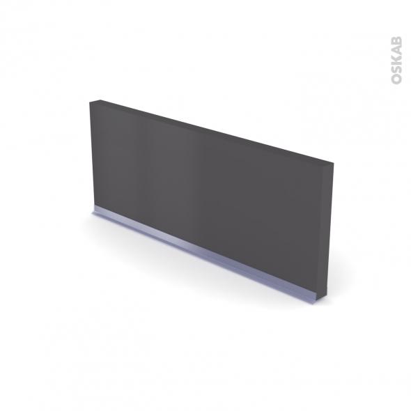 GINKO Gris - Rénovation 18 - plinthe N°35 - Avec joint d'étanchéité - L220xH15,4 cm