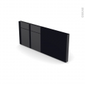 KERIA Noir - plinthe N°35 - L220xH14