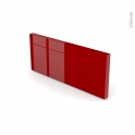 STECIA Rouge - plinthe N°35 - L220xH14