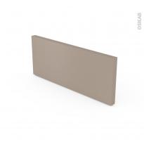 Plinthe de cuisine - GINKO Taupe - avec joint d'étanchéité - L220 x H14,4 cm
