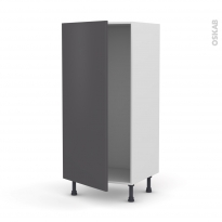 Colonne de cuisine N°27 - Armoire frigo encastrable - GINKO Gris - 1 porte - L60 x H125 x P58 cm