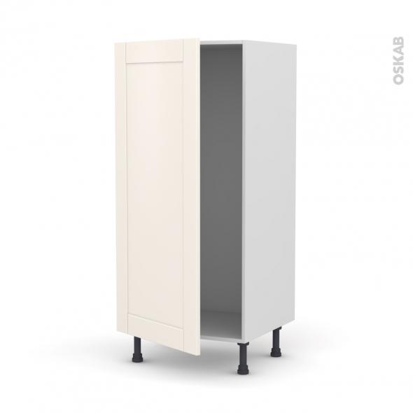 FILIPEN Ivoire - Armoire frigo N°27  - 1 porte - L60xH125xP58