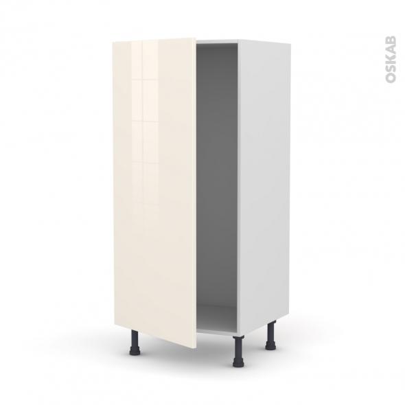 KERIA Ivoire - Armoire frigo N°27  - 1 porte - L60xH125xP58