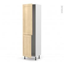 BETULA Bouleau - Armoire frigo N°2724  - 2 portes - L60xH217xP58