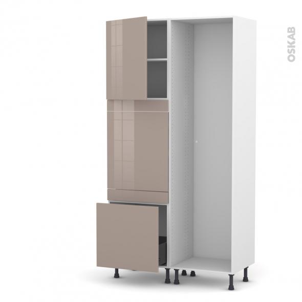 KERIA Moka - Colonne Lave vaisselle - Full Intégrable - L60xH217xP58